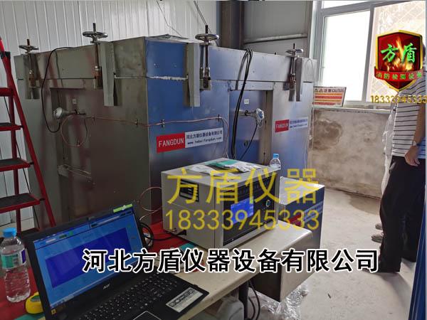 涂料隔热效率试验炉北京客户现场