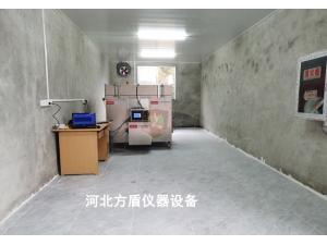 江苏客户定购钢结构防火涂料隔热效率偏差试验炉交付现场